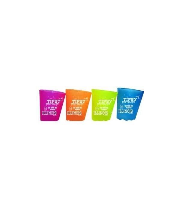 IL Shotglass Tipsy 4/A