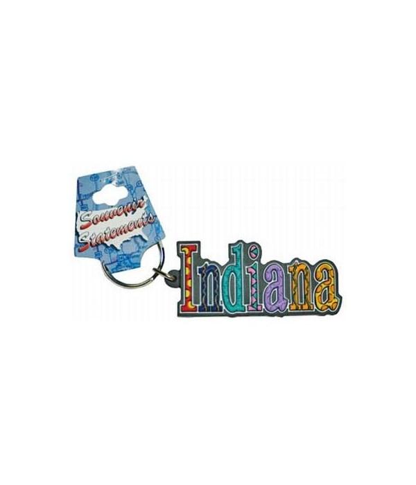 IN Keychain PVC Festive