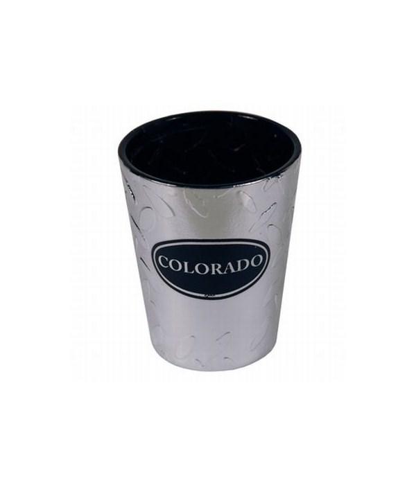 CO Shotglass Diamond Plate