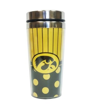 U-IA Mug Travel Polka Dot 14oz
