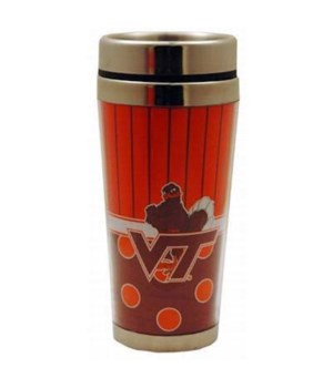 VA-T Travel mug, polka dot