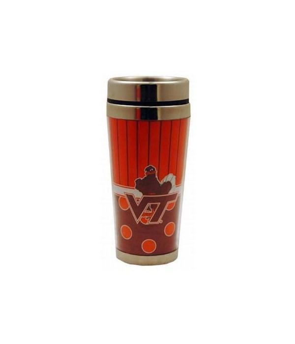 VA-T Travel mug, polka dot