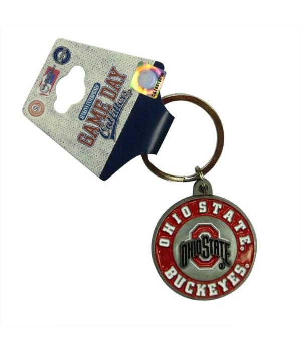 OH-S Keychain Metal Bullseye