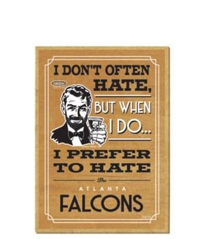 I prefer to hate Atlanta Falcons