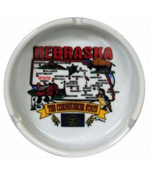 NE Ashtray State Map