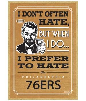 I prefer to hate Philadelphia 46ers