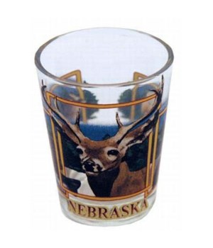 NE Wildlife Shot glass