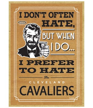 I prefer to hate Cleveland Cavaliers