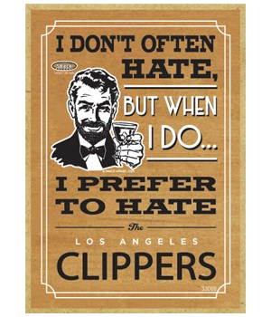 I prefer to hate Los Angeles Clippers