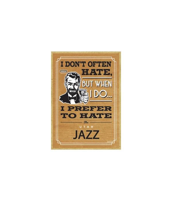 I prefer to hate Utah Jazz