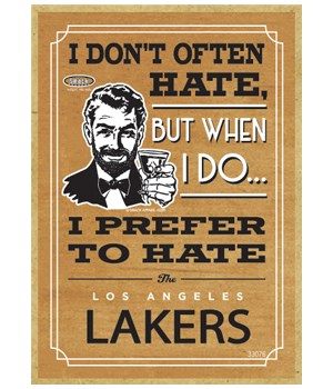 I prefer to hate Los Angeles Lakers