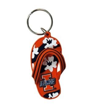 U-IL Keychain PVC Flip Flop