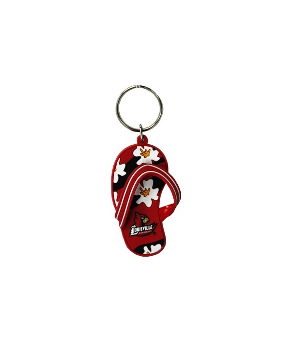 LOUI Keychain PVC Flip Flop