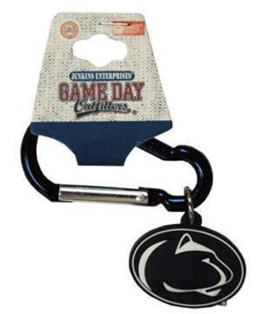 Penn State Carabiner PVC Keychain 12PC