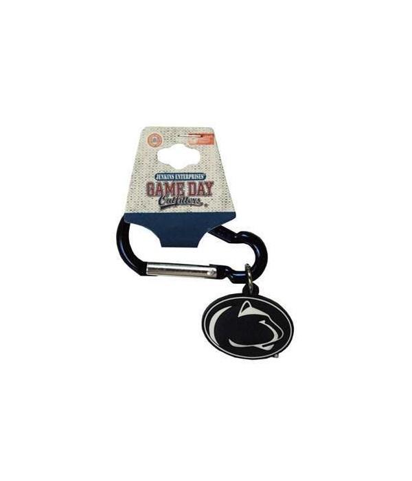 Penn State Carabiner PVC Keychain 12PC