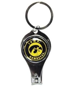U-IA Keychain Nail Clipper Bullseye