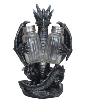 Dragon Salt & Pepper Set -8""