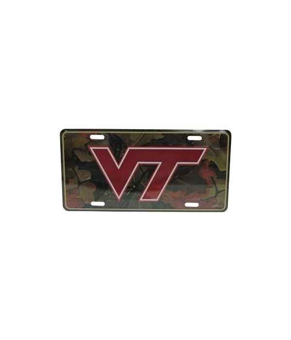 VA-T Car Tag Camo
