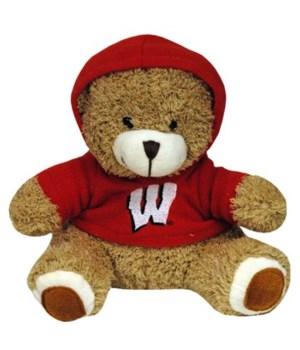 U-WI Plush Bear Teddy w/Hoodie