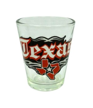 TX Shotglass Rock n' Roll