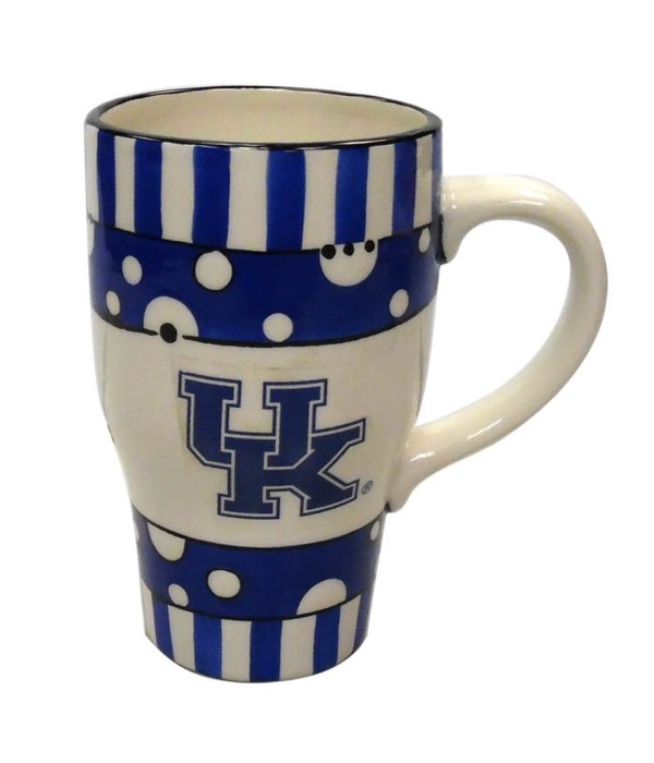 U-KY Mug Ceramic Hand Painted 20oz