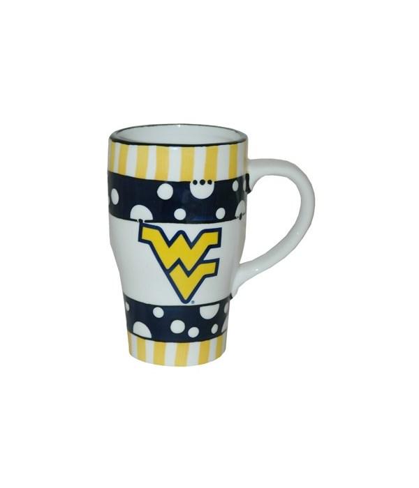 WV-U Mug Ceramic Hand Painted (20oz)