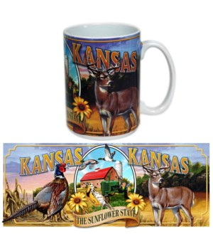 KS Mug Ceramic Grande Mural 15oz