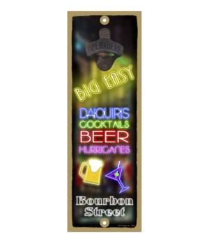 FLA - Big Easy - Neon Lights of drinks