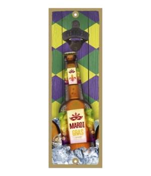 FLA - Beer bottle on ice - Mardi Gras l