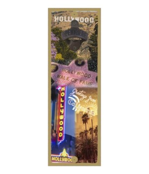 Hollywood, California - Collage of Holly