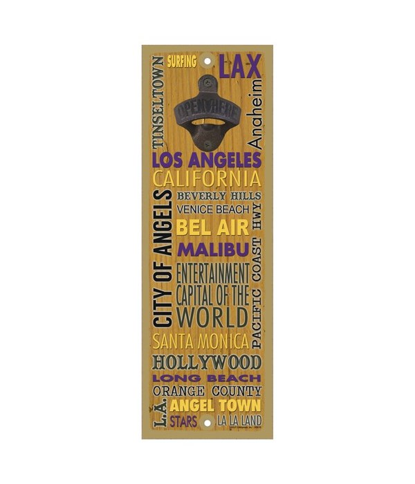 Los Angeles, California - Cities and Nic