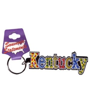 KY Keychain PVC Festive