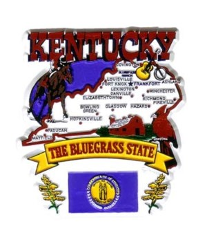 KY Magnet 2D State Map