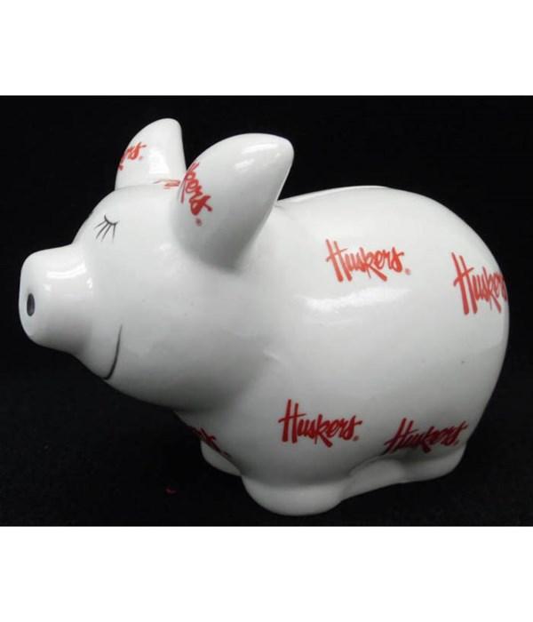 U-NE Bank Piggy Logo All Over