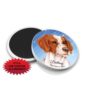 Brittany car coaster /Magnet