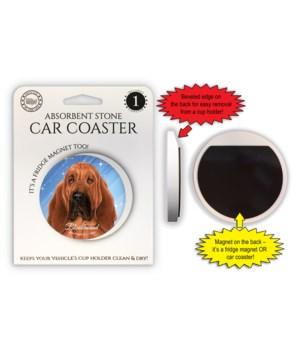 Bloodhound Magnet coaster