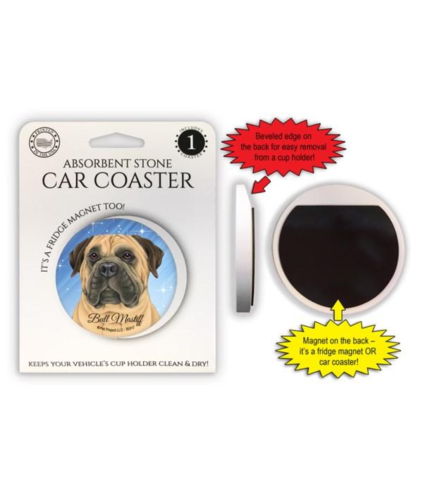 Bull Mastiff Magnet coaster