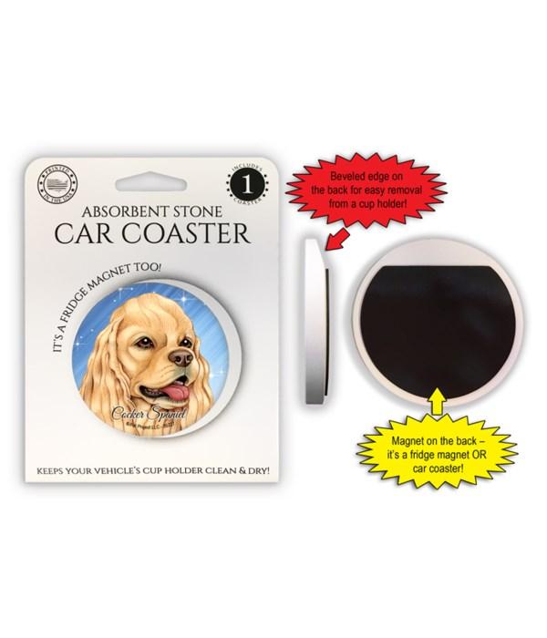 Cocker Spaniel (American, tan) Magnet co