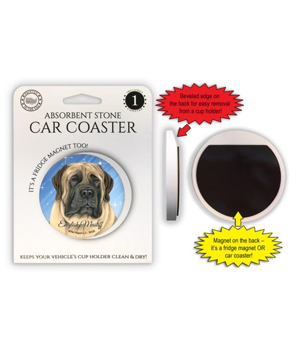 English Mastiff Magnet coaster