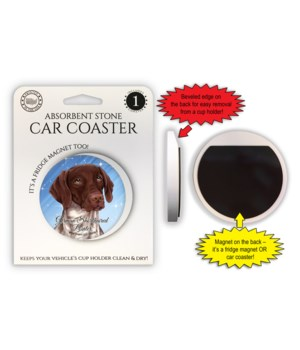 German Shorthaired Pointer Magnet coaste