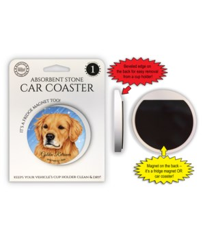 Golden Retriever Magnet coaster