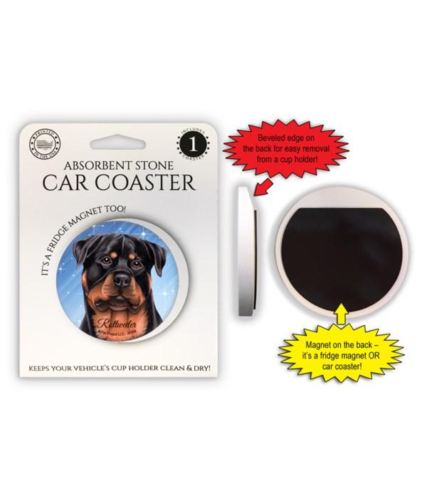 Rottweiler Magnet coaster