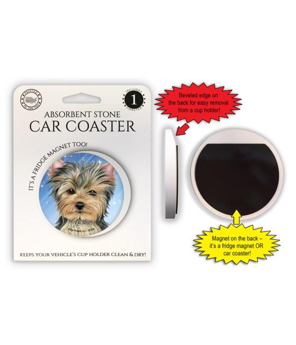 Yorkie Magnet coaster
