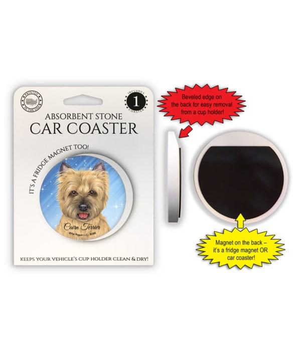 Cairn Terrier (tan) Magnet coaster