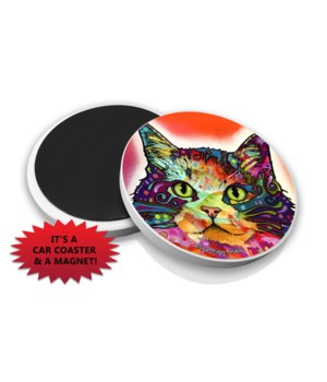 Cat-Ragamuffin DR Car Magnet Bulk