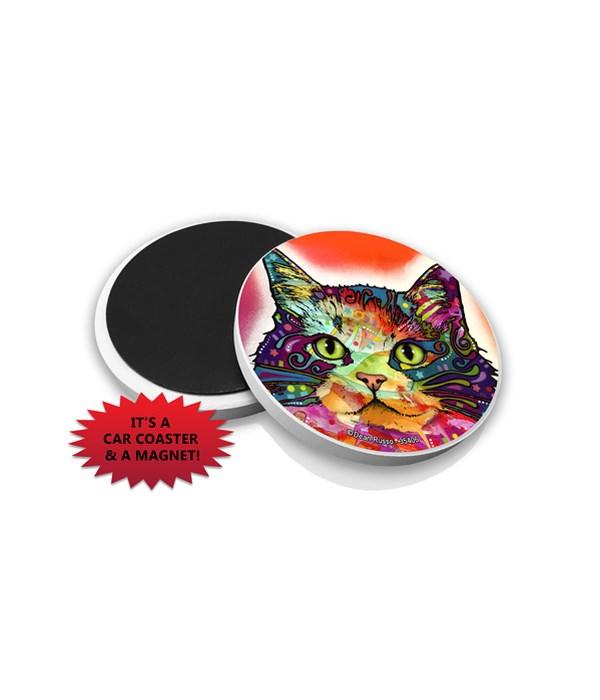 Cat-Ragamuffin DR Car Magnet Bulk