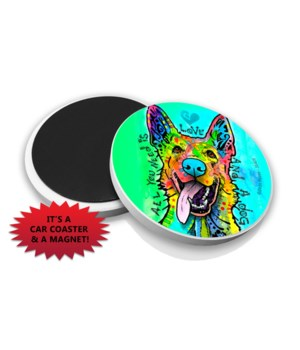 German Shepherd-all y DR Car Magnet Bulk