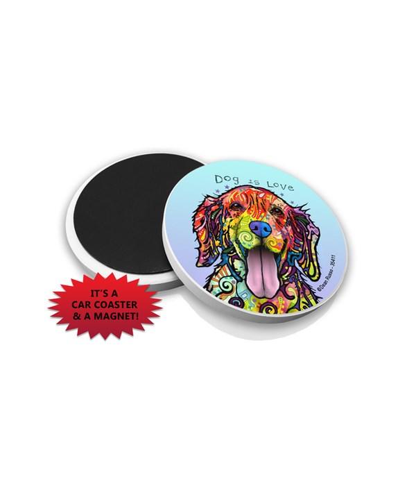 Golden Retriever-Dog  DR Car Magnet Bulk