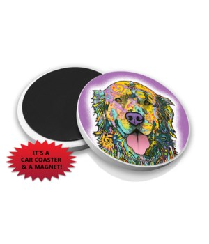 Golden Retriever DR Car Magnet Bulk