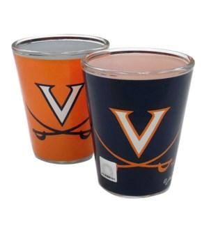 U-VA Shotglass 2-Tone
